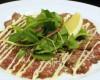 ★牛肉のたたきカルパッチョ仕立て